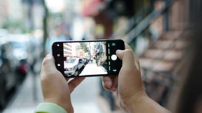 đo độ sâu ảnh trên iphone xs max