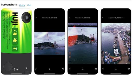 huji cam - ứng dụng chỉnh màu hongkong