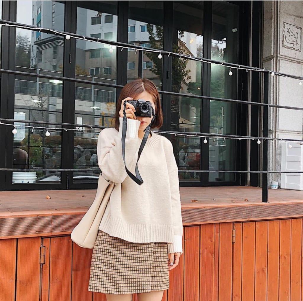 phong cach chụp ảnh cùng máy chụp hình
