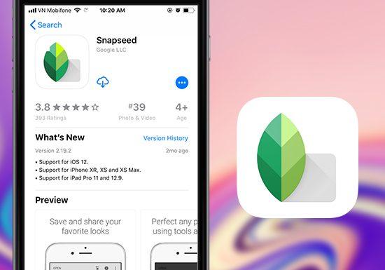 thủ thuật sử dụng app Snapseed