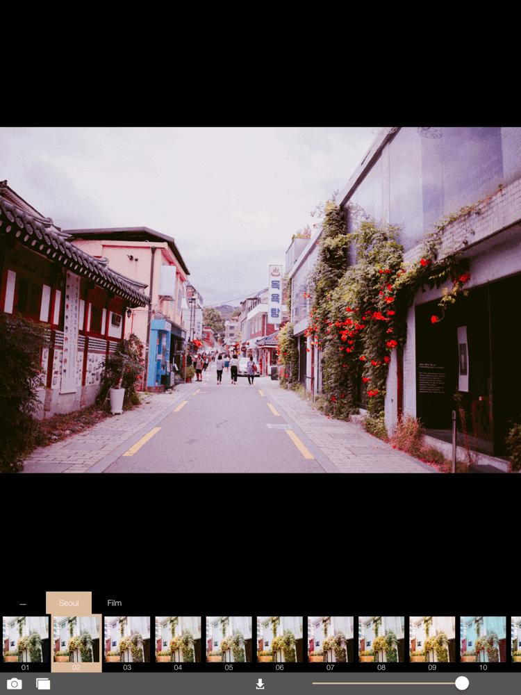 Filter 05 (+80) _ Ex -22 _ Bright -4 _ Shar +20 : gam màu tươi tắn xinh xắn chuẩn Seoul (Nguồn ảnh: internet)