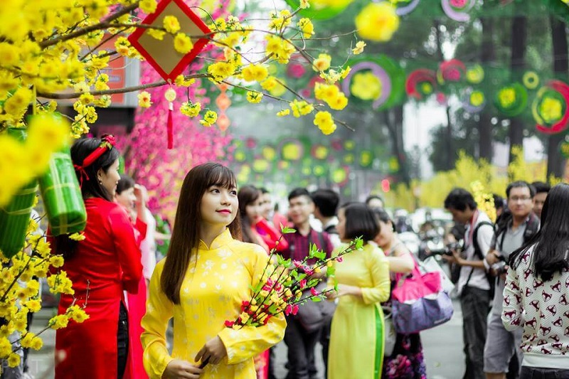 Rạo rực không khí mùa xuân với Hội hoa Xuân Tao Đàn