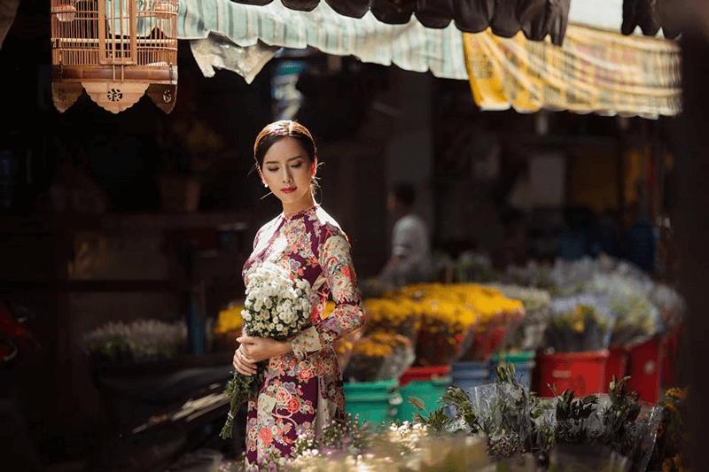 Chợ hoa Quảng Bá tô thêm không khí sắc xuân