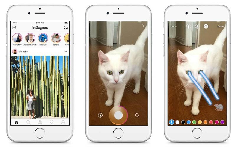 Bạn có thể tự tay chỉnh sửa các bức ảnh thú vị trên Instagram Story