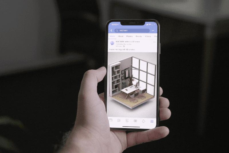 Sử dụng các điện thoại có hỗ trợ tính năng chụp ảnh 3D
