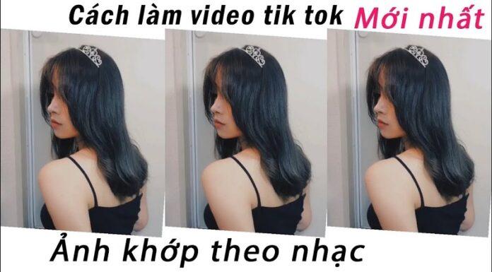 Cách ghép video ảnh trên Tiktok