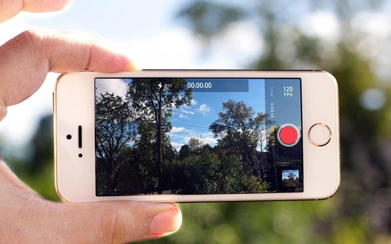 Cách quay video slow motion trên iphone