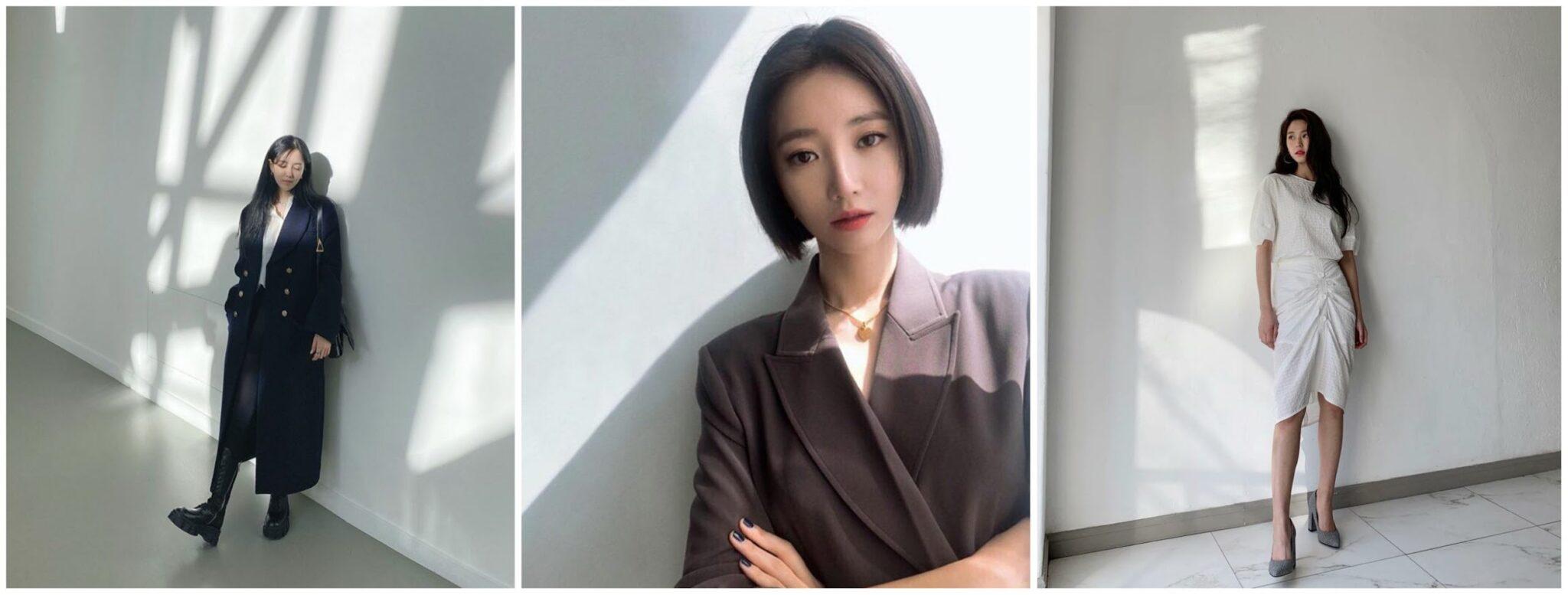 Mẹo chụp ảnh Instagram của Hàn Quốc - nền trắng