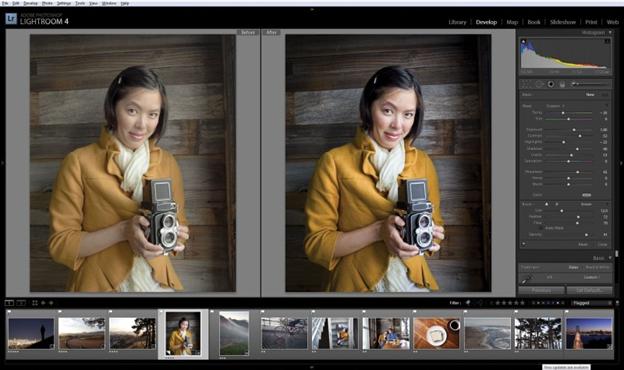 Ứng dụng Lightroom – giúp bạn kiểm soát độ nét của bức ảnh tốt hơn