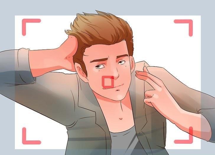 Hướng khuôn mặt hoặc cơ thể hợp lý