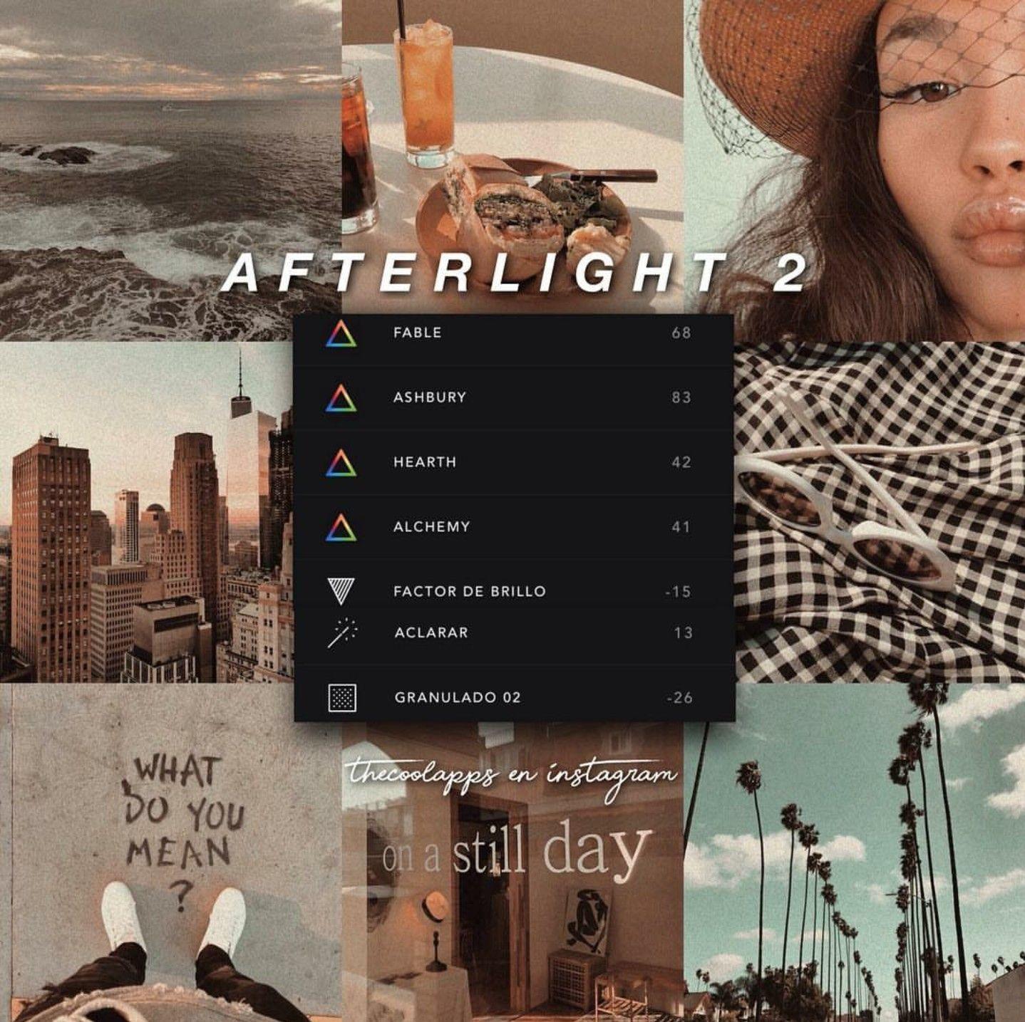 Các bộ lọc cao cấp hơn trên app chỉnh ảnh retro Afterlight 2