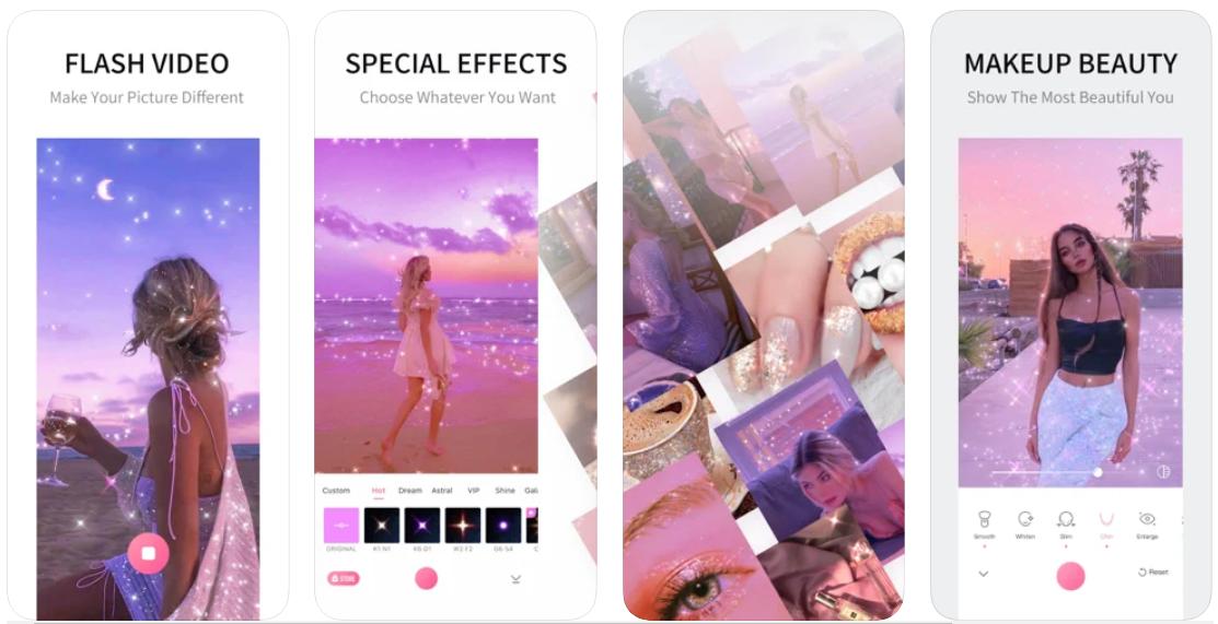 App chỉnh ảnh Sparkle