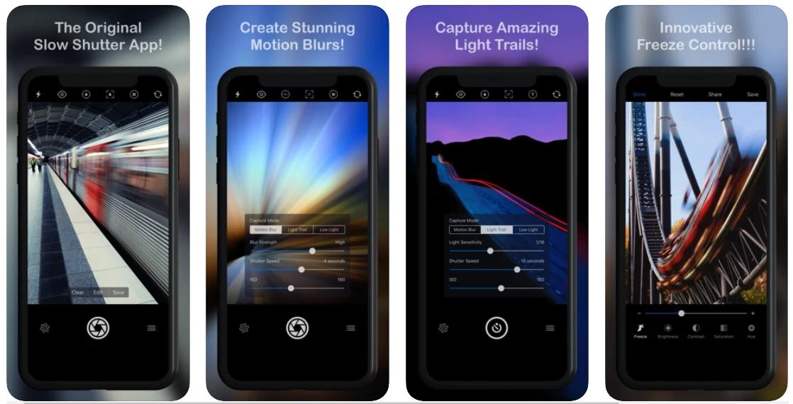 Thỏa sức sáng tạo cùng với ứng dụng Slow Shutter Cam