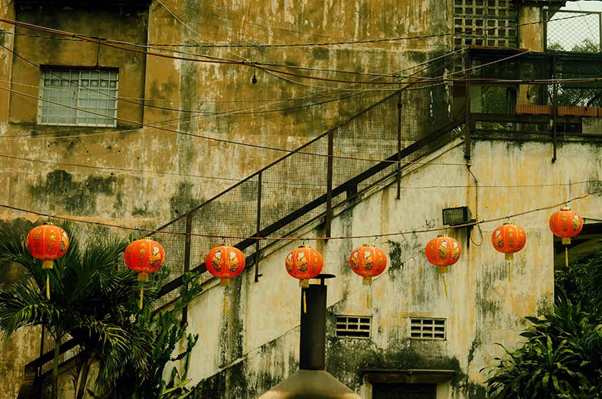 Một nét cổ kính tại Chinatown