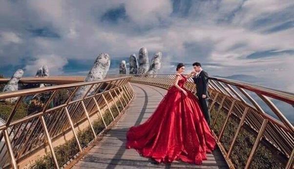Quang cảnh Cầu Rồng - Bà Nà Hills
