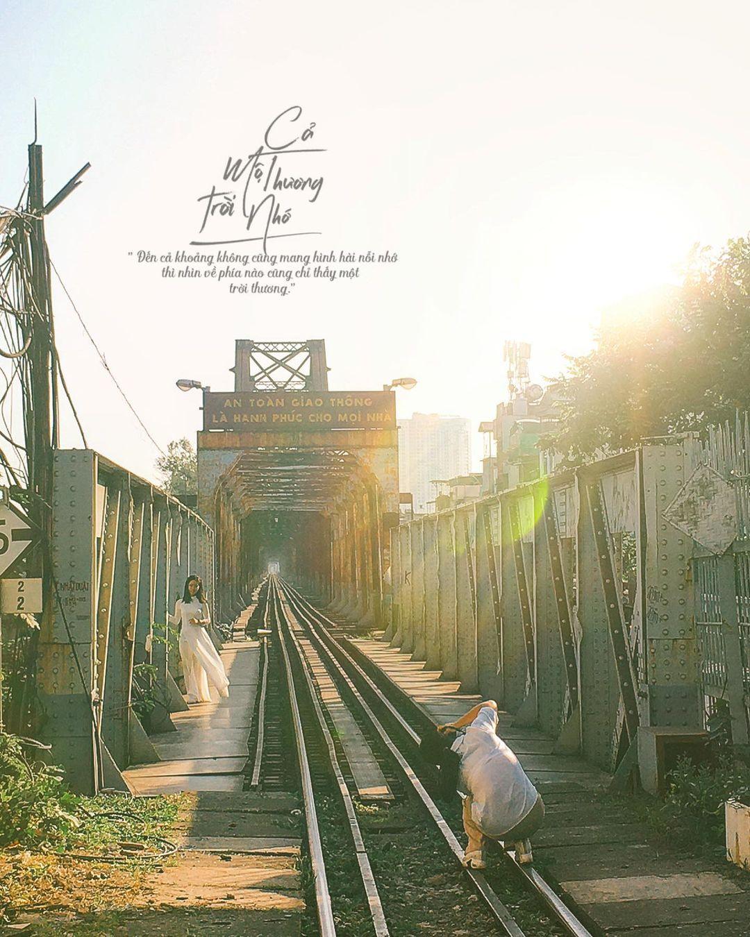 Cầu Long Biên - Ảnh: @ lee.hinn