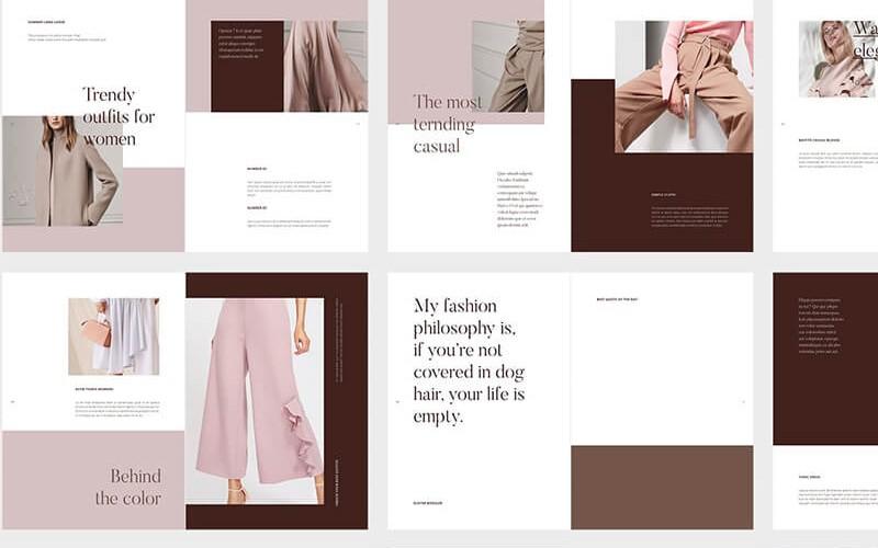 Lookbook tôn lên nét đặc thù cho thương hiệu của bạn