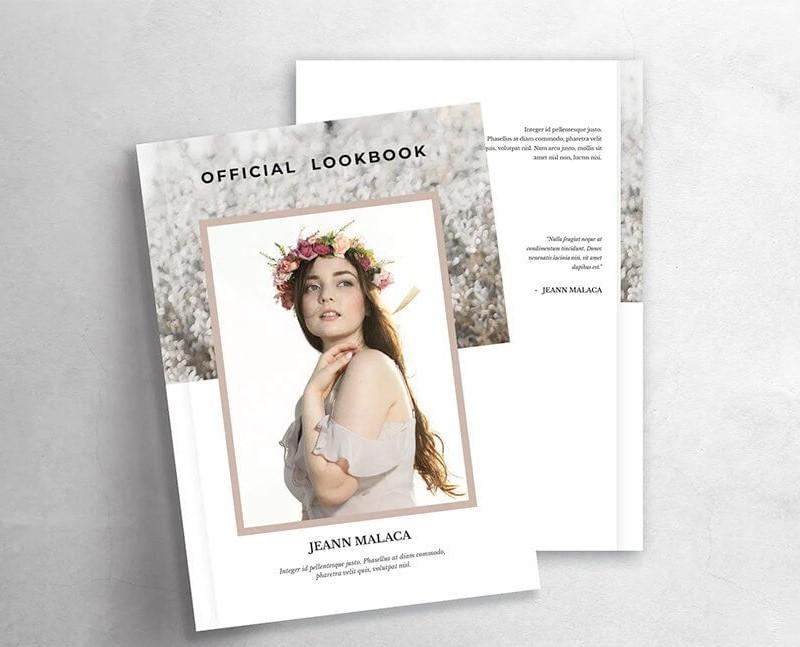 Lookbook cơ bản là điều mà mọi người nghĩ đến đầu tiên.