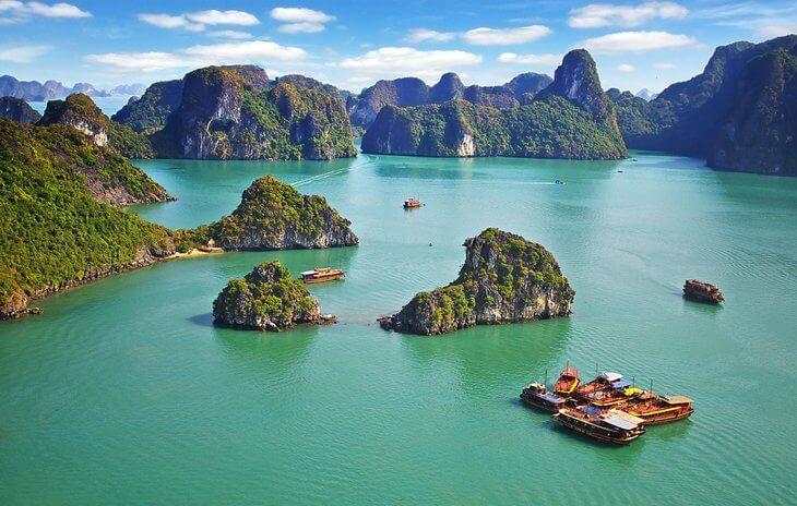 Địa điểm du lịch trong nước dành cho bạn thích du ngoạn trên thuyền