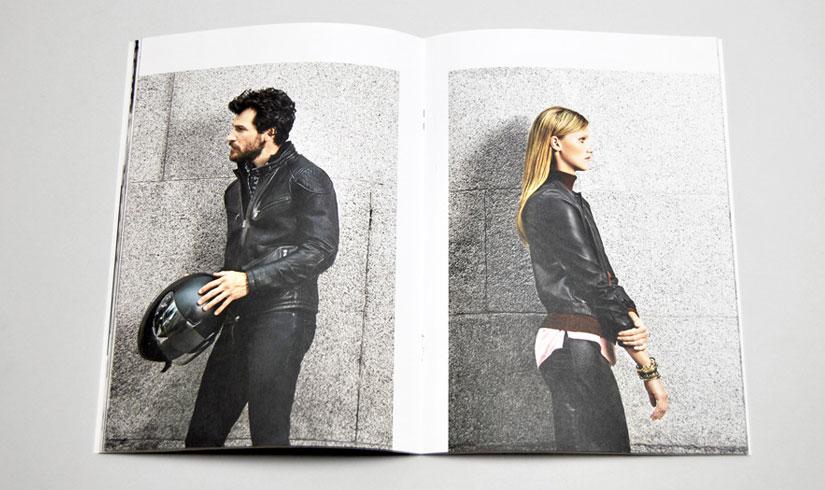 Bộ lookbook tối giản không text và các không gian trống làm nổi bật chủ thể