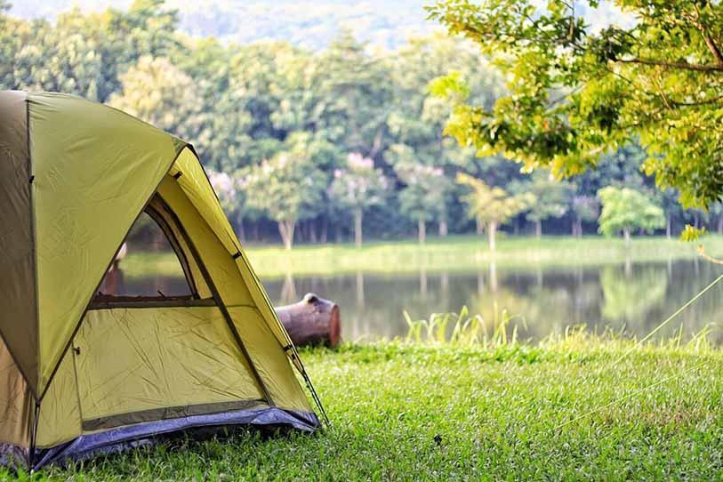 Đi phượt không thể thiếu những ô lều