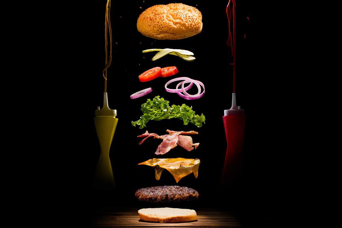 Người xem có thể biết rõ từng nguyên liệu của món ăn khi bạn chụp ảnh theo concept này
