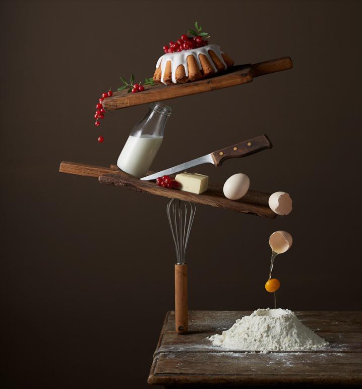 Ý tưởng chụp ảnh đồ ăn quá trình nấu ăn