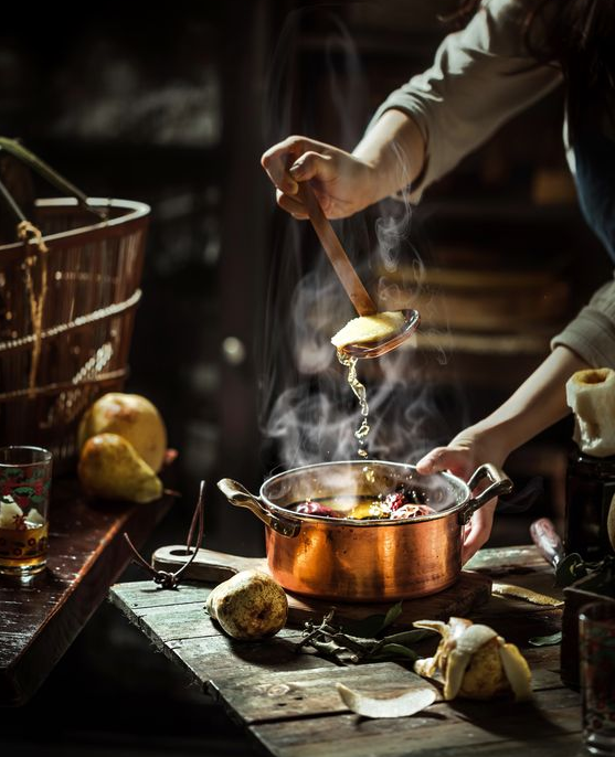 Concept này có khả năng miêu tả được trạng thái của món ăn mới nấu