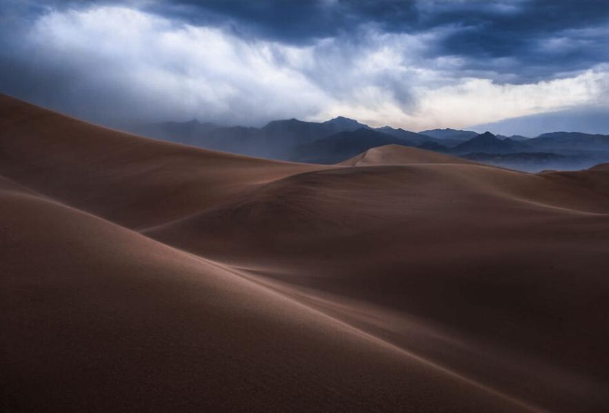 Ảnh chụp một sa mạc