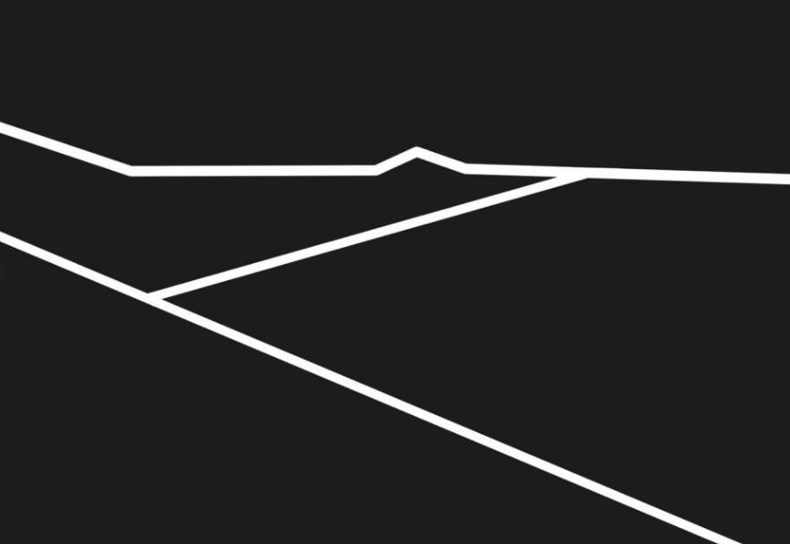 Cấu trúc đơn giản của ảnh chụp sa mạc phía trên